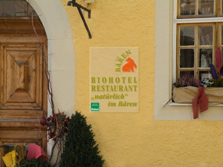 Biohotel zum Bären, Rothenburg ob der Tauber